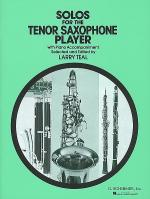Solos for the Tenor Saxophone Player Sheet Music