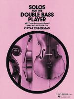 Solos for the Double-Bass Player Sheet Music