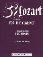 Mozart for the Clarinet Sheet Music