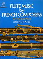 Flute Music By French Composers Sheet Music