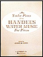 12 Pieces From Water Music - Easy Piano Sheet Music