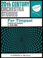 Twentieth Century Orchestra Studies for Timpani Sheet Music