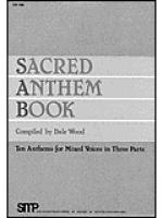 Sacred Anthem Book Sheet Music