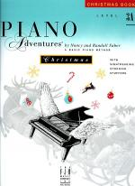 Piano Adventures Level 3A - Christmas Book Sheet Music