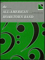 The All-American Hometown Band - 4-hand duet Sheet Music