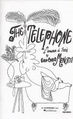 The Telephone - Vocal Score Sheet Music