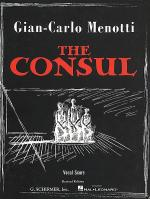The Consul - Vocal Score Sheet Music