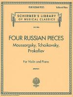 Four Russian Pieces Sheet Music