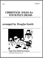 Christmas Folio for Four-Plus Brass - F Horn/Tuba Sheet Music