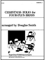 Christmas Folio for Four-Plus Brass - Tbn 1 and 2 Sheet Music