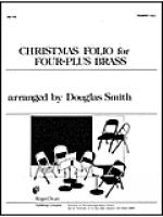 Christmas Folio for Four-Plus Brass - Tpt 1 and 2 Sheet Music