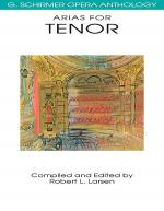 Arias For Tenor Sheet Music