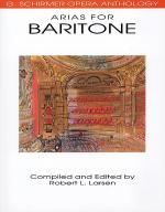 Arias for Baritone Sheet Music