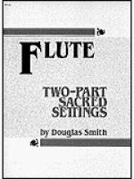 2-part Sacred Settings for Flute Sheet Music