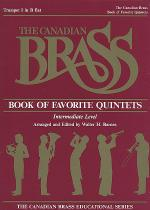 Canadian Brass Book Of Favorite Quintets - 1st Trumpet Sheet Music