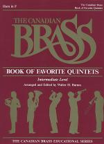 Canadian Brass Book Of Favorite Quintets - Horn Sheet Music
