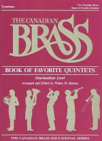 Canadian Brass Book Of Favorite Quintets - Trombone Sheet Music