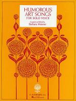 Humorous Art Songs Sheet Music