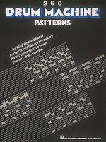 260 Drum Machine Patterns Sheet Music