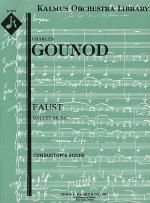 Faust: Ballet Music (complete) Sheet Music