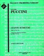 Gianni Schicchi (reduced orchestration) Sheet Music