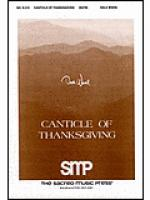 Canticle of Thanksgiving Sheet Music