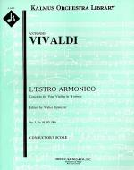 L'Estro Armonico, Op. 3; No. 10: Concerto for Four Violins & Cello in B minor, RV580/F.IV: 10 Sheet Music