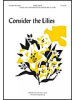 Consider the Lilies Sheet Music