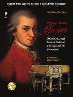 MOZART Concerto No. 26 in D major, KV537, 'Coronation' (Digitally Remastered 2 CD set) Sheet Music