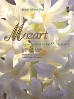 MOZART Quintet for Piano and Winds in E-flat major, KV452 Sheet Music