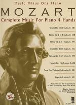 MOZART Complete Music for Piano 4 Hands (Digitally remastered 2 CD Set) for piano duet Sheet Music