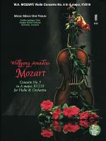 MOZART Violin Concerto No. 5 in A major, KV219 (Digitally Remastered 2-CD set) Sheet Music