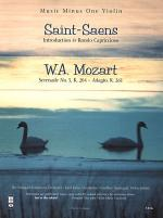 SAINT-SAENS Introduction & Rondo Capriccioso for Violin & Orchestra; MOZART Serenade No. 5, KV204; A Sheet Music