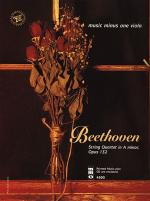 BEETHOVEN String Quartet in A minor, op. 132 (2 CD Set) Sheet Music