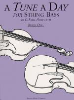 A Tune A Day For String Bass Book One Sheet Music