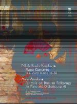 RIMSKY-KORSAKOV Concerto in C-sharp minor, op. 30; ARENSKY Fantasia on Russian Folksongs, op. 48 (2  Sheet Music
