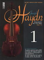 HAYDN String Quartet in G major, 'Erdody,' op. 76, no. 1, HobIII:75 Sheet Music