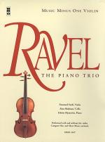 RAVEL Piano Trio in A minor Sheet Music