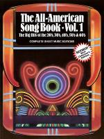The All-American Songbook - Volume 1 Sheet Music