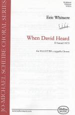 When David Heard - SSAATTBB Sheet Music