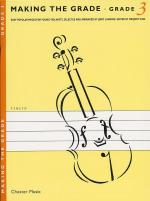 Making The Grade: Grade Three (Violin) Sheet Music