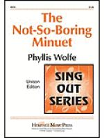 The Not So Boring Minuet Sheet Music