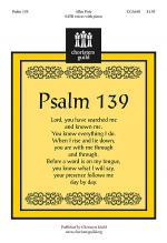 Psalm 139 Sheet Music