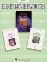 Disney Movie Favorites Instrumental Solo Clarinet Sheet Music