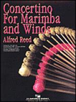 Concertino for Marimba and Winds Sheet Music