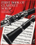First Book Of Clarinet Solos (B Flat Edition) Sheet Music