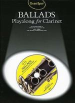 Guest Spot: Ballads Playalong For Clarinet Sheet Music