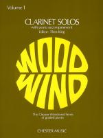 Clarinet Solos Volume 1 Sheet Music