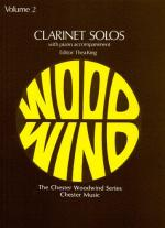 Clarinet Solos Volume 2 Sheet Music