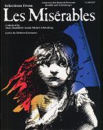 Selections From Les Miserables For Clarinet Sheet Music